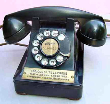 Wisconsin's 750,000th phone