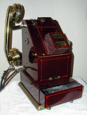 Stamping phone using WE 1001 handset