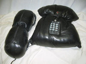 Pillow Talk - Leather phone