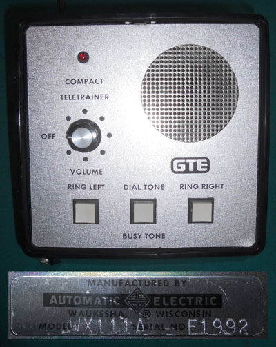 Automatic Electric Compact Teletrainer