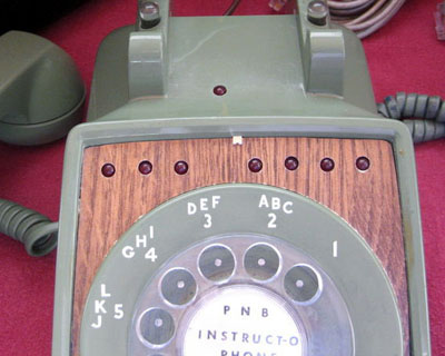 Instruct-o-Phone lights