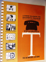 Telezonia Teacher's Guide cover