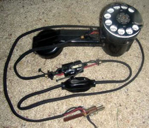"WE 1011G Handset with 3"" dial and CO Test Cord"