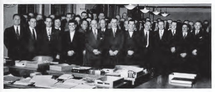 BSP Working Group in 1952