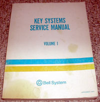 Key Systems Service Manual